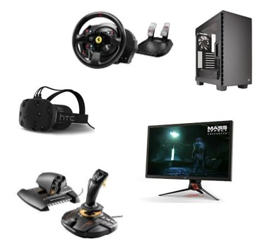 VR Headsets, controllers and PCs
