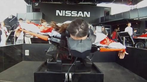 Nissan VR wing suit