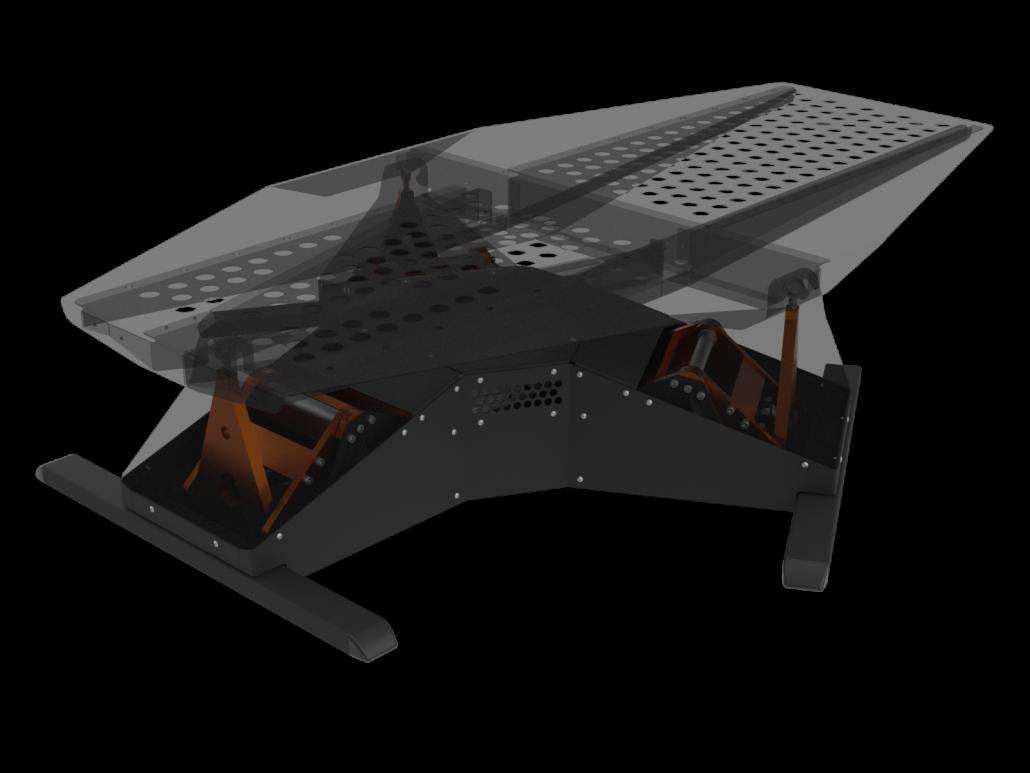 Atomic A3 race/flight simulator
